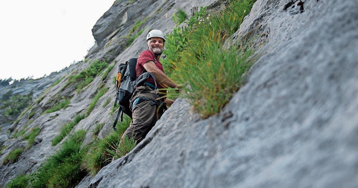 Klettersteig Fürenalp : Zurückgetretener regierungsrat ueli amstad: «die zehn jahre gaben