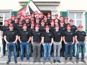 Die Mitglieder des STV Mettlen freuen sich auf ihre neue Fahne und das grosse Fest zum Vereins-Jubiläum. (Bild: PD)
