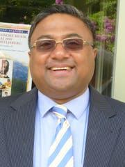 Der Indische Botschafter Sibi George. (Bild PD)