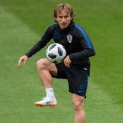 Luka Modric gewann kürzlich die Champions League. (PETER POWELL/EPA)
