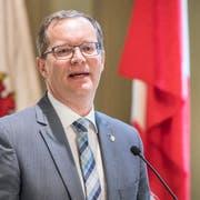 Regierungsrat Walter Schönholzer. (Bild: Andrea Stalder)