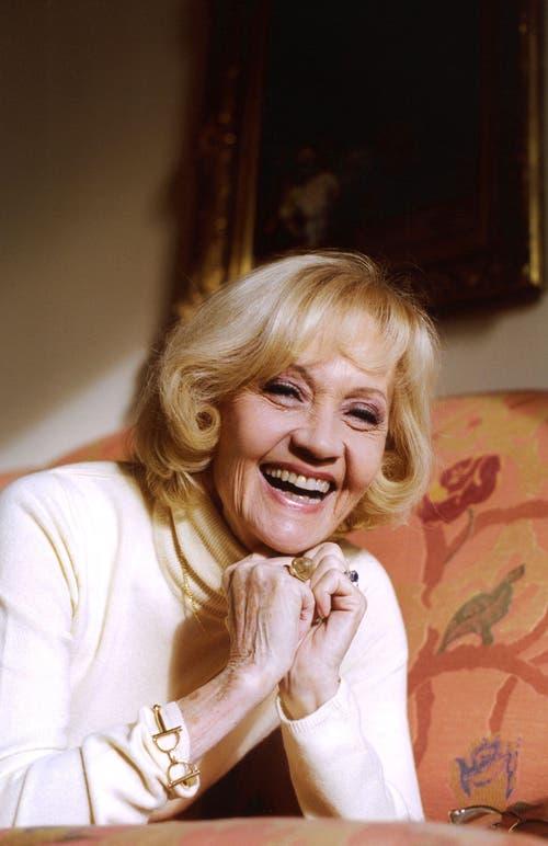 «Ich lachte einfach lauter als die anderen», sagt Lilo Pulver. Ansteckend wirkt ihr Lachen bis heute. (Bild: Keystone)