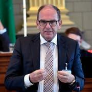 Regierungsrat Bruno Damann. (Bild: Regina Kühne)