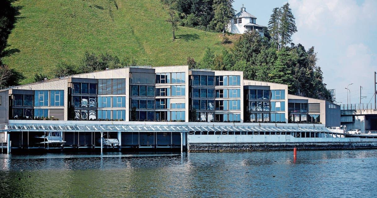 Interesse An Luxuswohnungen Am See In Stansstad Ist Lau Luzerner