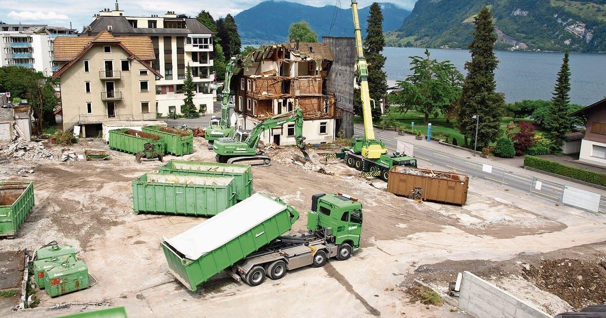 Hergiswil: Überbauung Wylpark Als Neues Dorfquartier Entsteht