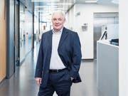 Ulrich Fricker (65) im Zentrum für Intensivmedizin des Luzerner Kantonsspitals. (Bild: Manuela Jans-Koch (18.Januar 2019))
