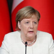 Die deutsche Bundeskanzlerin Angela Merkel. (Bild Maxim Shipenkow/EPA, Istanbul, 27. Oktober 2018)