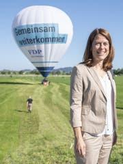FDP-Präsidentin Petra Gössi: Riskanter Klimaschwenk. (Bild: Keystone)