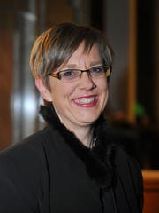 Christine Bouvard Marty. (Bild: Corinne Glanzmann, 23. Dezember 2011)