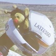 Beeat, das Maskottchen, begleitete Isa Müller auf der Monsterreise. (Bild: PD)