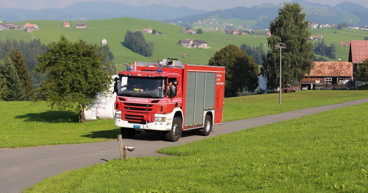 Schwerverletzte Person bei Helikopterabsturz in Herisau: Der Privatflug war von St.Gallen unterwegs in Richtung Alpstein   St.Galler Tagblatt