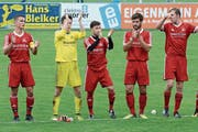 Der Applaus für die Leistungen der regionalen Fussballer nach der soeben beendeten Hinrunde hält sich in Grenzen. Eine Leistungssteigerung nach der fünf Monate andauernden Winterpause ist nötig. (Bild: Beat Lanzendorfer)