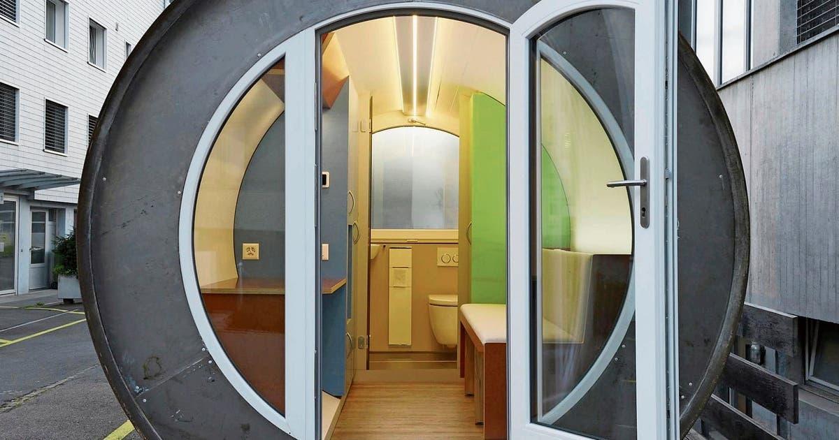 Zug: Erstes Röhrenhotel Der Schweiz