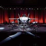 Der F-35 vom Hersteller Lockheed Martin gilt als modernster Kandidat im Rennen als neuster Kampfjet für die Schweizer Luftwaffe. (Bild: Atilgan Ozdil/Getty)
