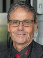 Silvio Boschian, EWN-Verwaltungsratspräsident. (Bild: Boris Bürgisser, Buochs, 11. April 2019)