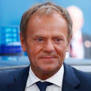 EU-Ratspräsident Donald Tusk. (Bild: AP)