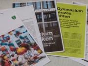 Blick in die erste Nummer des neu gestalteten Schulblatts des Kantons. (Bild: Hanspeter Schiess)