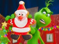 Der Grinch ist in den USA ein Klassiker im Weihnachtsprogramm. Jetzt kommt das griesgrämige Wesen als Animationsfilm auf die Leinwand – und begeistert nicht nur Weihnachtsmuffel.Bild: AP