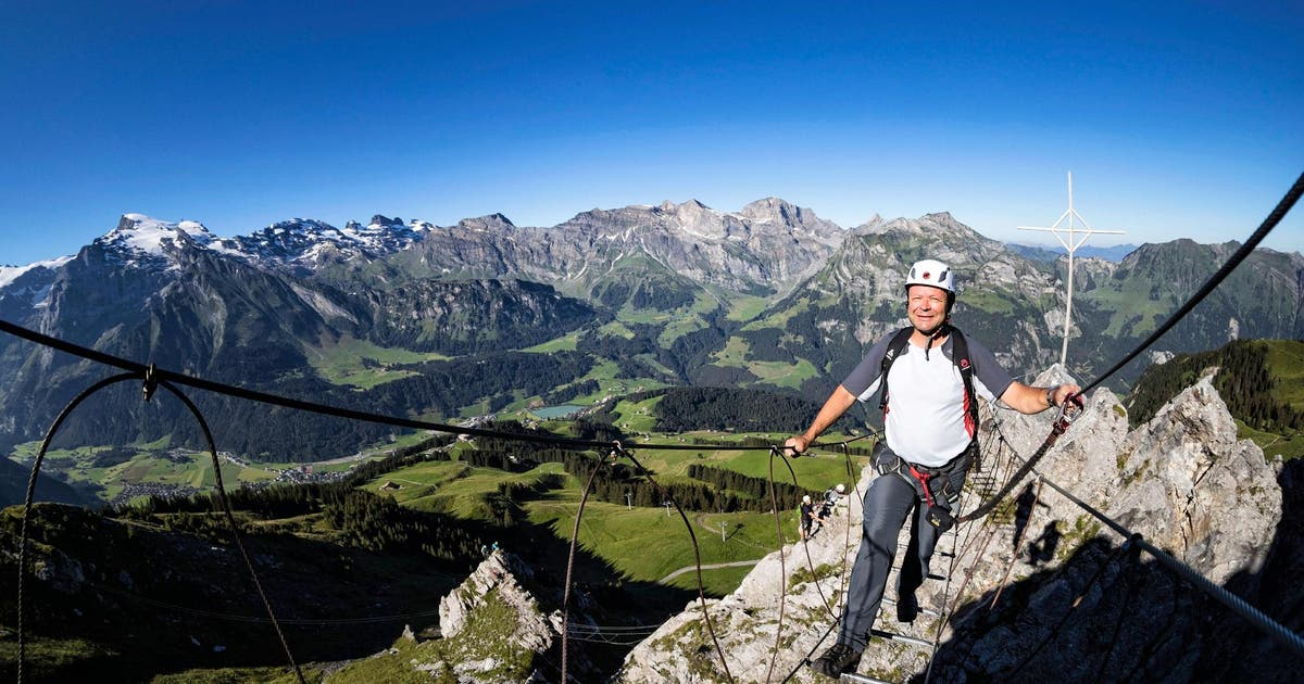 Klettersteig Luzern : Serie: ihm ist kein gelände zu steil luzerner zeitung