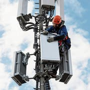 5G-Antennen gibt es schon vielerorts. (Bild: Peter Klaunzer/KEY)
