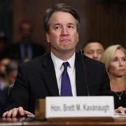 Brett Kavanaugh am vergangenen Donnerstag im US-Senat. (Bild: Win McNamee/EPA)