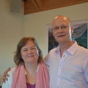Bernhard Harnickell und seine Frau Elvira. (Bild: Evi Biedermann)