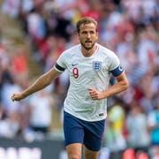 Harry Kane ist Nachfolger von Wayne Rooney als Captain der Engländer. (Bild: Imago)