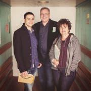 Stephan Sigg, Tom Zai und Alice Gabathuler (von links) mischen mit ihrem Verlag die Schweizer Jugendbuchszene auf. (Bild: PD)