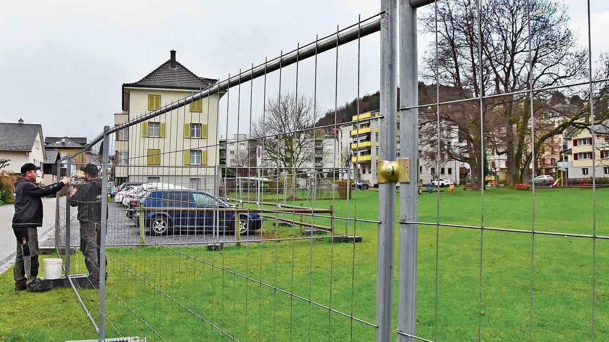Uzwil: Boden Unter Spielplatz Birkenstrasse Schadstoffbelastet