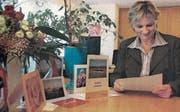 «Fanpost» für Vreni Wild, Gemeindepräsidentin der neuen Gemeinde Neckertal. (Bild: PD)