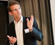 René Fiechter, CEO Spitalregion Fürstenland Toggenburg. (Bild: Sascha Erni)