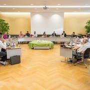 Blick in die Sitzung des Kreuzlinger Gemeinderates, hier vom 14. Juni. (Bild: Reto Martin)