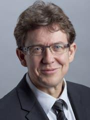 Albert Rösti, Präsident der SVP Schweiz, ist zu Gast bei der Jubiläumsfeier... (Bild: PD)