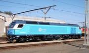Eine der still stehenden 13 Lokomotiven von Stadler Rail Valencia für die südafrikanische Prasa. (Bild: Col André Kritzinger/Wikipedia)