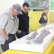 Auch die WOV profitiert vom Programm Agglomerationsverkehr. Im Bild das Modell der WOV an einer Ausstellung. (Bild: Paul Gwerder (Altdorf, 28. April 2018)