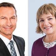 Sie wollen in den Horwer Gemeinderat: SVP-Einwohnerrat Oliver Imfeld und L20-Einwohnerrätin Claudia Röösli. (Bilder: PD)