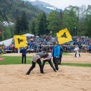 Am 12. Mai verfolgten 2800 Zuschauer das Urner Kantonale. Beim «Innerschweizerischen» in Flüelen werden es rund dreimal so viele Besucher sein. (Bild: Urs Flüeler/Keystone)