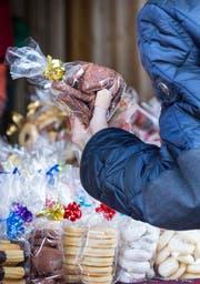 Ähnlich wie beim «Stärnezauber» soll auch beim «Weihnachtszelt»ein breites Angebot an weihnachtlicher Verpflegung und Unterhaltung geboten sein (Bild: Andrea Stalder, 09.12.2017)