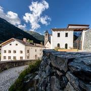 Ab 1157 Kloster, im 19.Jahrhundert Brauerei, heute Heimat für Kunst: das Muzeum Susch im Engadin. (Bild: Andrea Badrutt)