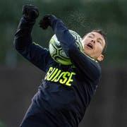 Kämpft im Training um seinen Platz in der Nationalmannschaft: der Luzerner Stephan Lichtsteiner. (Bild: Toto Marti/Freshfocus, Zürich, 18. März 2019)
