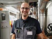 Zoran Balas, Mitarbeiter Technischer Dienst. (Bild: Rahel Haag)