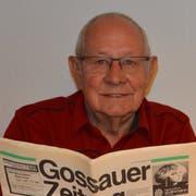 Franz Schildknecht war 22 Jahre lang Alleinredaktor der GoZ. (Bild: Vanessa Mengel)