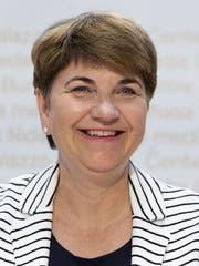 Sportministerin Viola Amherd (Bild: KEYSTONE/Peter Klaunzer)