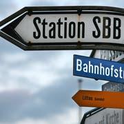Mit der Erweiterung der ehemaligen Bahnhof- und heutigen Cheerstrasse im Luzerner Stadtteil Littau wird im Herbst 2020 begonnen. (Bild: Nadia Schärli)