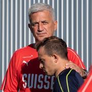 Haben sich versöhnt: Vladimir Petkovic und Xherdan Shaqiri