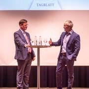 Norbert Näf und Oliver Gröble (von links). (Bild: Beat Belser)