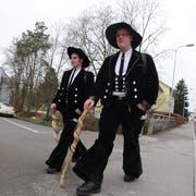 Marius Rimpel und Marc Hocke aus Deutschland waren 2011 auf Arbeitssuche in Romanshorn. (Bild: PD)