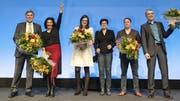 Hauchdünner Triumph Sibel Arslan (Zweite von links) schnappte sich 2015 den fünften Sitz. (Bild: Roland Schmid)