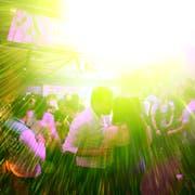 Tanzen und Party machen bis in die frühen Morgenstunden: Dies ist an Weihnachten nicht erlaubt. Archivbild LZ