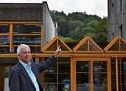 Der Verwalter Paul Forster blickt auf eine lange Karriere am Berufs- und Weiterbildungszentrum Toggenburg zurück. (Bild: Julia Engel)